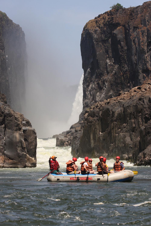 Victoria Falls Rafting