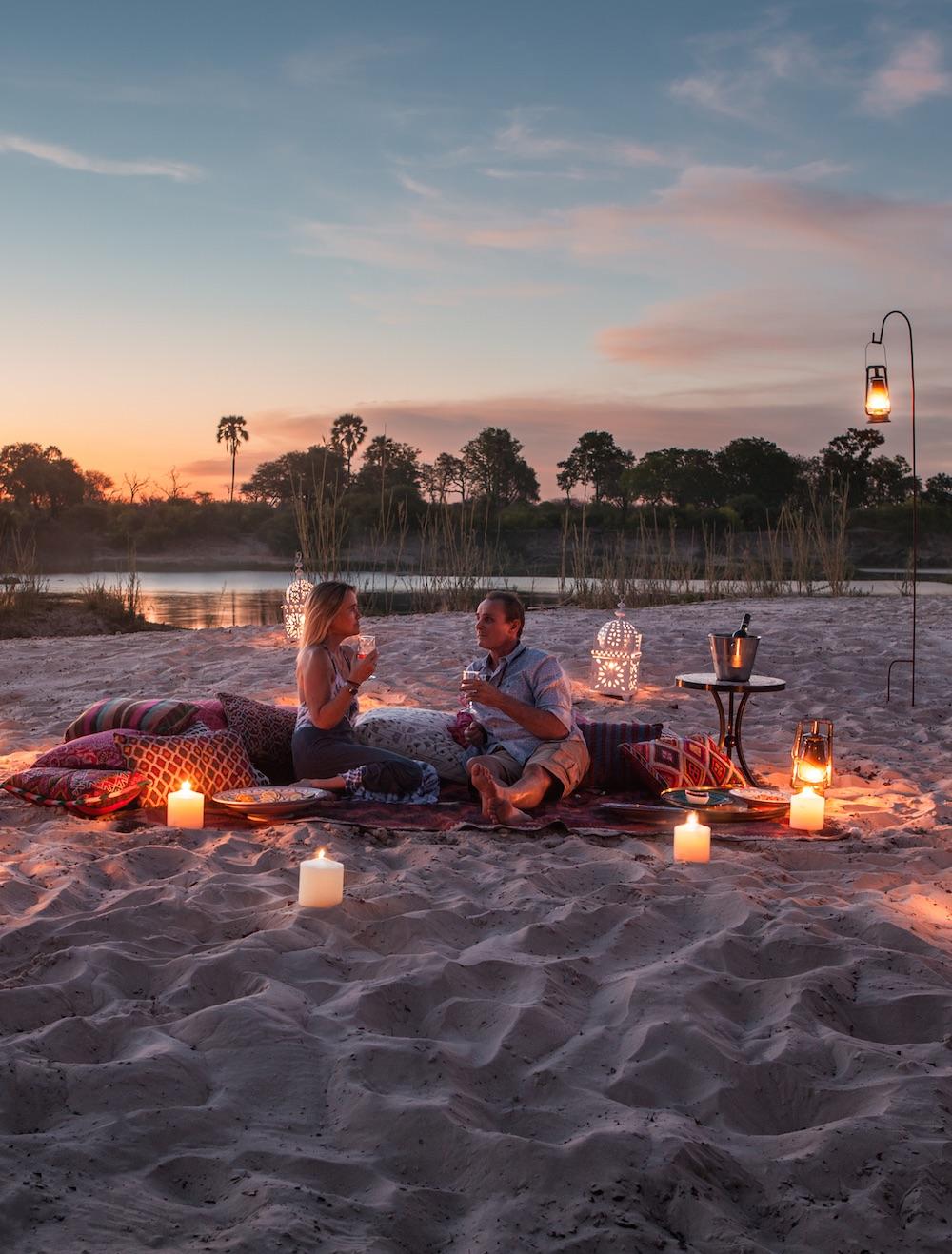 Victoria Falls Sunset Dinner
